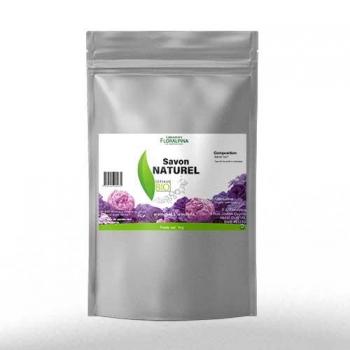 Savon naturel bio aromatisé violette copeaux 1kg
