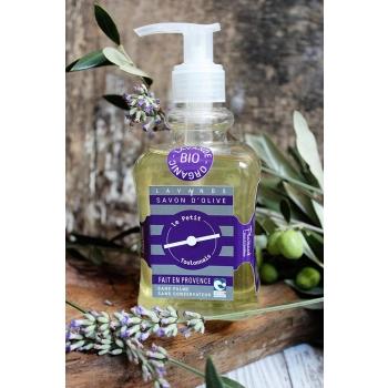 Savon liquide huile d'olive et lavande bio - 500ml