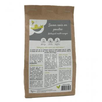 Savon noir en poudre - sachet de 350gr