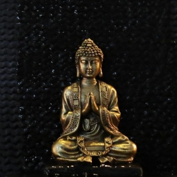 Statuette - SBM3 OR Méditation