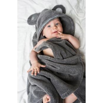 LUIN LIVING - Serviette-cape bébé/enfant 0-5 ans GRANITE