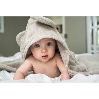 LUIN LIVING - Serviette-cape bébé/enfant 0-5 ans SAND