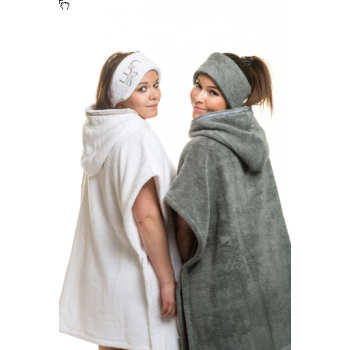LUIN LIVING - Casual Poncho H 80 cm SNOW