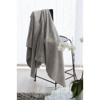 LUIN LIVING - Serviette spa 25×25 cm 1 pièce PEARL GREY