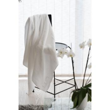 LUIN LIVING - Grande serviette 100×180 cm SNOW