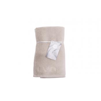 LUIN LIVING - Serviette visage 30×50 cm SAND