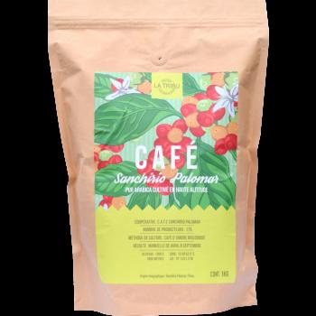 Café Sanchirio Pérou Grains 1kg Équitable & Bio de haute altitude