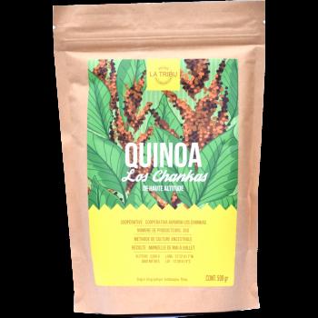 500g - Quinoa Équitable & Bio LOS CHANKAS de haute altitude
