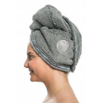 Serviette pour cheveux GRANITE sur le côté