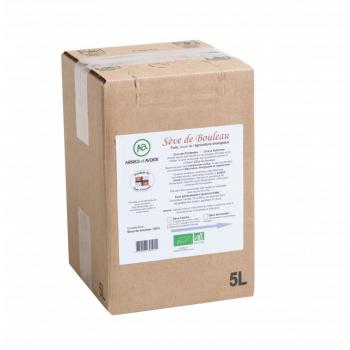 Sève de bouleau fraîche - Récolte 2020 - BIB de 5 litres