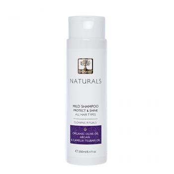 Shampoing doux naturel, pour tous types de cheveux - 250ml