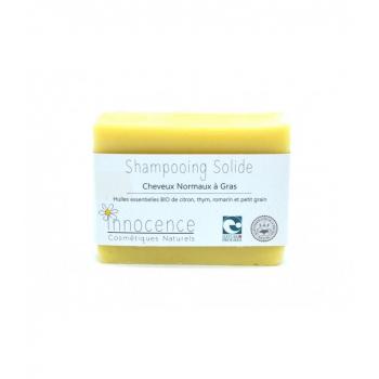 Shampoing solide bio Normaux à Gras - Avec huile essentielle