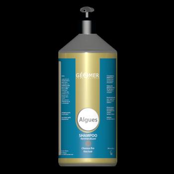Shampoing aux Algues - Flacon 1000 ml/ 1 L - Cheveux fins