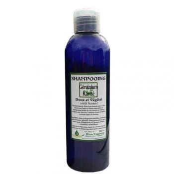 shampojng geranium karité runessence 200ml