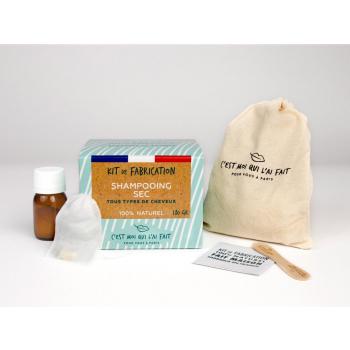 Kit de fabrication shampooing sec 180 gr