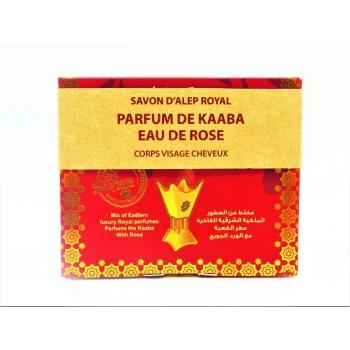 Savon d'Alep Royal au Parfum de Kaaba & à l'Eau de Rose