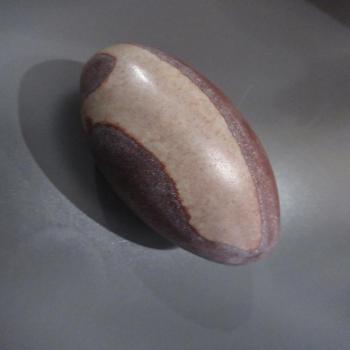 Pierre de Shiva Lingam 253 grammes