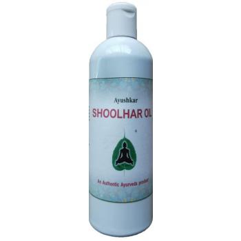 Huile de massage ayurvédique Shoolhar - 200 ml