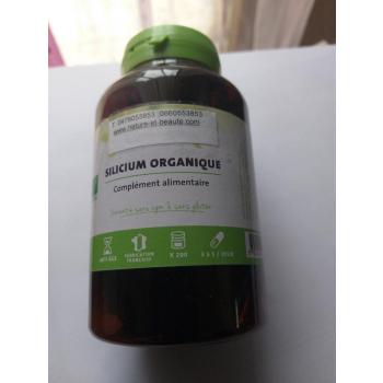 Silicium organique Bio 200 gélules 3 mois