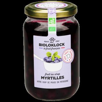 Myrtilles au sirop - 360g