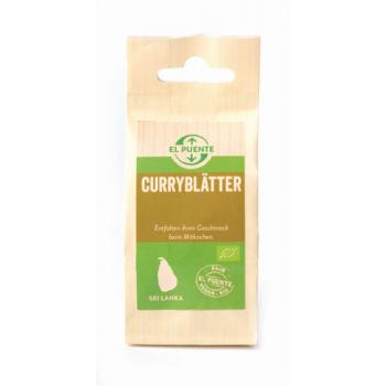 Feuilles de curry, en sachet