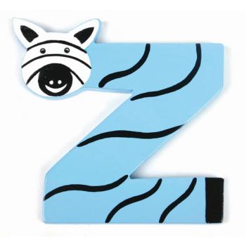 """Lettre z """"design zoo"""""""