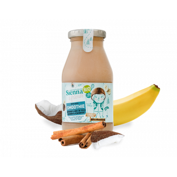 S&F BIO Smoothie Banane, Noix de Coco & Cannelle 200ml