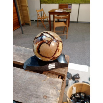 Socle support de sphère ou d'oeuf 280g
