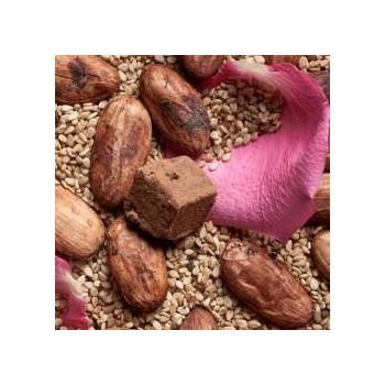 Truffes de chocolat cru bio et vegan- Rose Sésame (100g)