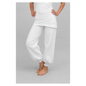 "Pantalon de yoga ""Sohang"" de ""Breathe of Fire"" blanc"