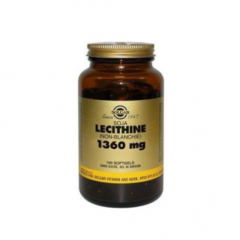 soja-lecithine-1360-mg-solgar