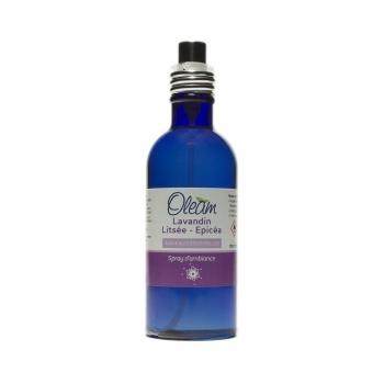 Spécialités - Spray d'ambiance - Lavandin, Litsée, Epicéa - 100 ml
