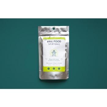 AKAL FOOD - Mélange tonifiant d'épices, de plantes bio et de spiruline - Spirtonic 100g