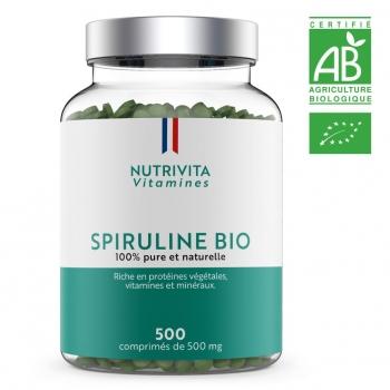 Spiruline - 500 gélules de 500 mg