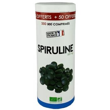 Spiruline Bio 500 mg 300 comprimés + 50 offerts