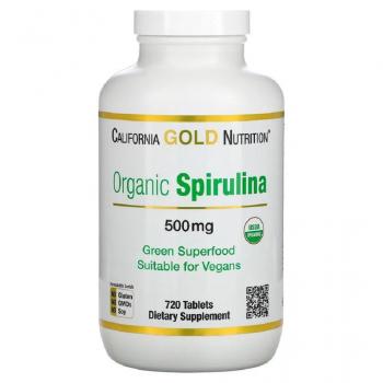 Spiruline biologique,  Organic, 500 mg, 720  comprimés