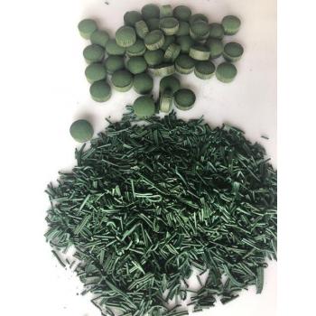 Spiruline en comprimés, cultivée en Bretagne 100% française - 1kg - SECHAGE BASSE TEMPERATURE