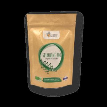 Spiruline packaging