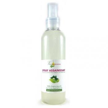 Spray Assainissant Aux Huiles Essentielles Bio 200Ml
