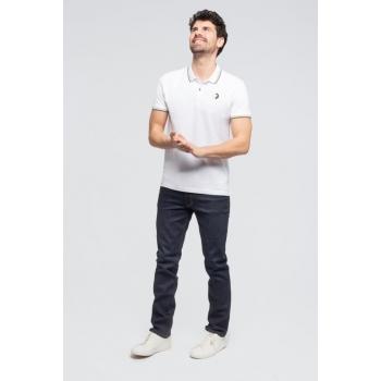 """Le""""STANLEY"""": Polochic100% Coton BIOpiqué Blanc"""