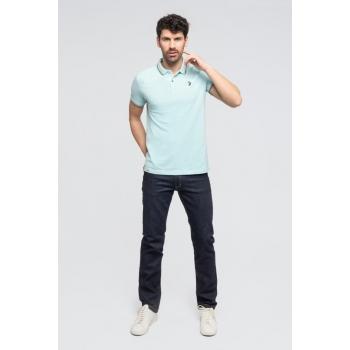 "Le""STANLEY"": Polochic100% Coton BIOpiqué Bleu"