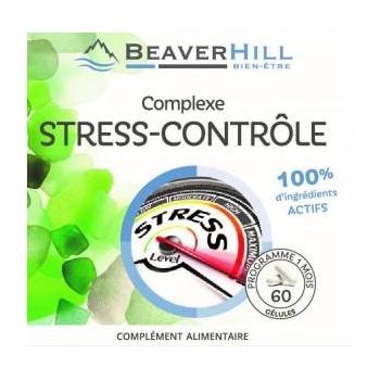 Complexe STRESS-CONTRÔLE - PROMO ! - 3 Achetés / 1 Offert