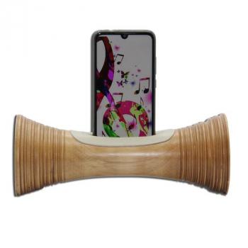 ENCEINTE sans BLUETOOTH - Amplificateur naturel ECOLOGIQUE,station d'accueil Iphone,haut-parleur passif en bois,cadeau Noel écoresponsable homme et femme, st valentin, fete des peres