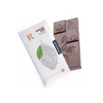 Tablette de choclat cru bio et vegan- Café-Guarana (45g)