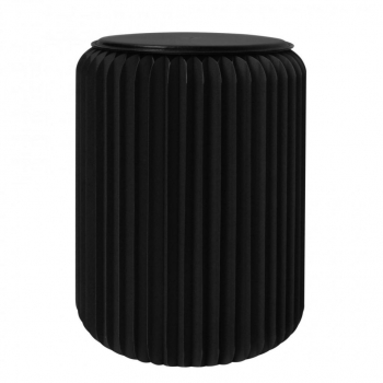 Tabouret pliable 50 cm noir