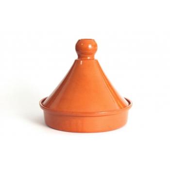 Tajine marocain 25 cm avec couvercle en céramique