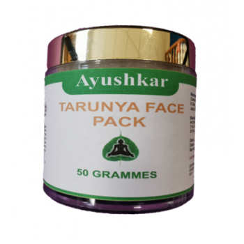 Tarunya Face Pack, masque anti-rides ayruvédique - 50 g