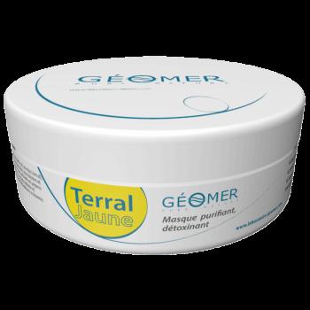 Terral Jaune - Pot 100 ml - Masque à l'argile