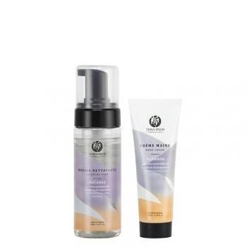 Duo protecteur - Mousse nettoyante & Crème mains