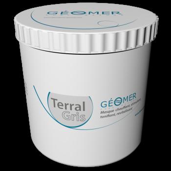 Terral Gris - Pot 500 ml - Masque à l'argile